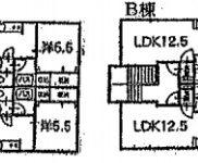 青森市 賃貸8の6 土地384.35平米 1LDK×8戸 バス停徒歩10分 利回り 9.19%