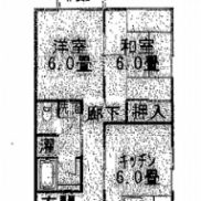 新潟県長岡市 満室稼働中 土地95.05平米 2DK×4 バス停徒歩4分 満室時利回り 11.75%