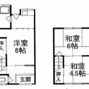 滋賀県大津市 空室 土地50.9平米 3K×1戸 満室時利回り 10.7%