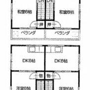 香川県丸亀市◆満室稼働中◆土地145.94平米◆3DK×2戸◆満室時利回り 7.20%