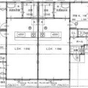 兵庫県宝塚市◆満室稼働中◆土地231.64平米◆2LDK×4戸◆満室時利回り 6.25%