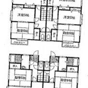 群馬県高崎市◆空室◆土地211.99平米◆4LDK×2戸 メゾネットタイプ◆満室時利回り 12.92%