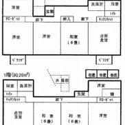 静岡県牧之原市◆空室◆土地434.81平米◆3DK×2戸◆満室時利回り 14.20%