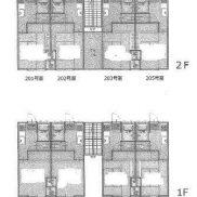 福島県郡山市◆満室稼働中◆土地402.03平米◆1K×8戸◆満室時利回り 13.64%