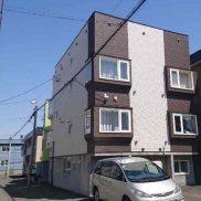 北海道札幌市  満室稼働中  土地121.48平米  1DK×3戸 1R×3戸  バス停徒歩4分  満室時利回り 10.22%