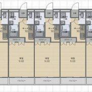 岐阜県各務原市 満室稼働中 土地677.68平米 1K×10戸 満室時利回り 8.35%