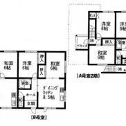 賃貸3の1 土地190.41平米 2DK×2戸 3LDK×1戸 バス停徒歩2分 満室時利回り 26.00%