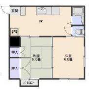 栃木県那須塩原市 賃貸6の4 土地216.82平米 2DK×6戸 満室時利回り 15.18%