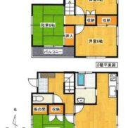 埼玉県深谷市 賃貸中 土地121平米 戸建て4DK 満室時利回り 13.33%