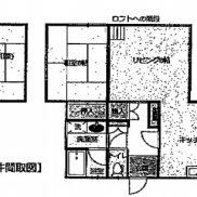 千葉県館山市 空室 土地323.09平米 戸建て1LDK+ロフト 再建築不可 満室時利回り 12.00%