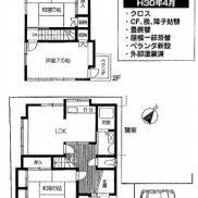 埼玉県狭山市 空室 土地 82.31平米 戸建て3LDK 満室時利回り 12.82%
