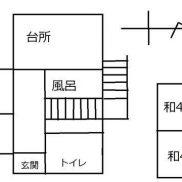群馬県みどり市 空室 土地129.12平米 戸建て4K 満室時利回り 24.00%
