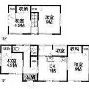 千葉県山武郡 空室 土地135.05平米 戸建て4DK 満室時利回り 11.11%