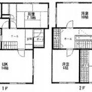 千葉県市原市 空室 土地165.71平米 戸建て4LDK 満室時利回り 14.40%
