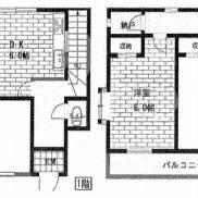 埼玉県川越市 賃貸中 土地57.52平米 戸建て3DK 再建築不可 満室時利回り 12.64%