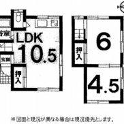 埼玉県ふじみ野市 賃貸中 土地46.49平米 戸建て2LDK 満室時利回り 11.20%