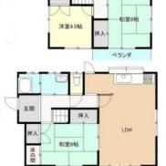群馬県高崎市 空室 土地149.59平米 戸建て3LDK 満室時利回り 12.97%