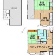 千葉県市原市 賃貸中 土地222平米 戸建て+小屋裏収納 満室時利回り 9.05%