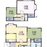 千葉県東金市 空室 土地145平米 戸建て3LDK 満室時利回り 12.20%