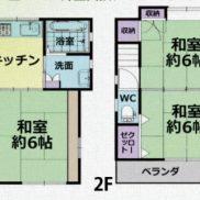 埼玉県川越市 空室 土地43.57平米 戸建て3DK 満室時利回り 10.90%