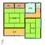 千葉県木更津市 空室 土地45.28平米 戸建て2K 満室時利回り 12.00%