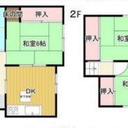 千葉県市原市 空室 土地89.5平米 戸建て3DK 満室時利回り 13.04%