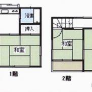 埼玉県羽生市 賃貸中 土地50.6平米 戸建て3K 満室時利回り 12.00%
