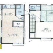 千葉県いすみ市 空室 土地155平米 戸建て2LDK 満室時利回り 8.68%
