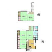 群馬県安中市 空室 土地152.55平米 戸建て5DK 満室時利回り 11.76%