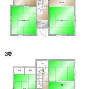 栃木県那須塩原市 空室 土地227.56平米 戸建て5K 満室時利回り 17.1%