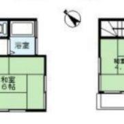 埼玉県富士見市 空室 土地52.47平米 戸建て3K 満室時利回り 10.90%