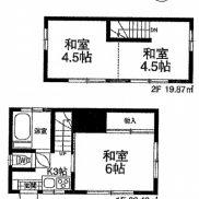 埼玉県川越市 空室 土地64.47平米 戸建て3K 満室時利回り 14.69%