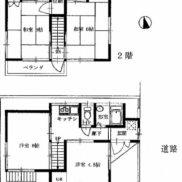埼玉県入間郡 空室 土地 65.12平米 戸建て4K 満室時利回り 11.40%