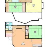 茨城県牛久市 賃貸中 土地202.98平米 戸建3LDK 満室時利回り 12.50%