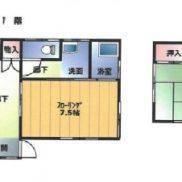 埼玉県加須市 空室 土地108.36平米 戸建て3DK 満室時利回り 13.15%