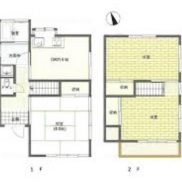 埼玉県加須市 空室 土地322.65平米 戸建て3DK 満室時利回り 13.46%