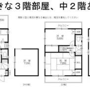 千葉県船橋市 空室 土地57.74平米 戸建て4SDK 満室時利回り 12.50%