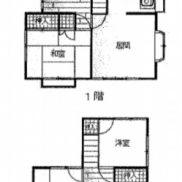 埼玉県熊谷市 空室 土地127.75平米 戸建て4LDK 満室時利回り 12.43%