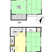 千葉県鴨川市 空室 土地 29.75平米 戸建て3DK 満室時利回り 19.20%