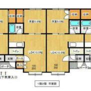 北海道札幌市 満室稼働中 土地237.51平米 1LDK×8戸 満室時利回り 9.98%