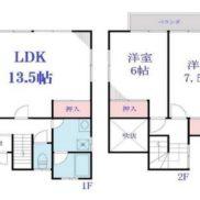 千葉県東金市 賃貸中 土地106.03平米 戸建て2LDK 満室時利回り 14.50%