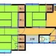 群馬県桐生市 空室 土地99.25平米 戸建て3DK 満室時利回り 8.27%