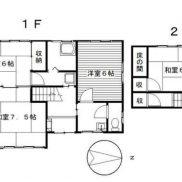 群馬県桐生市 空室 土地213.68平米 戸建て4SDK 満室時利回り 16.00%