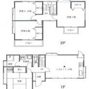 千葉県山武市 空室 土地103.59平米 戸建て4LDK 満室時利回り 17.36%