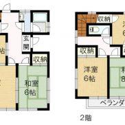 埼玉県加須市 空室 土地137.3平米 戸建て5DK  満室時利回り 10.90%