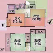 埼玉県狭山市 空室 土地60.34平米 戸建て3DK 満室時利回り 13.20%