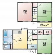 埼玉県入間郡 空室 土地83.32平米 戸建て3DK 満室時利回り 12.04%