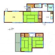 千葉県松戸市 空室 土地85平米 戸建て4DK バス停徒歩5分 満室時利回り 12.00%