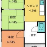 千葉県千葉市 空室 土地105.78平米 戸建て3DK 満室時利回り  18.09%