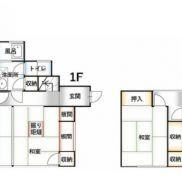群馬県前橋市 空室 土地141.73平米 戸建て5K 満室時利回り 11.37%